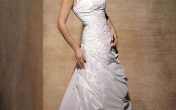 Svatební šaty - 40% sleva na zapůjčení svatebních šatů.