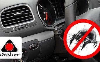 Zbavte svoje autíčko rôznych nežiadúcich zápachov a baktérii vďaka ozónovej dezinfekcii interiéru auta len za 1,99€. K tomu získate zdarma i kontrolu podvozku! Zľava 80%.