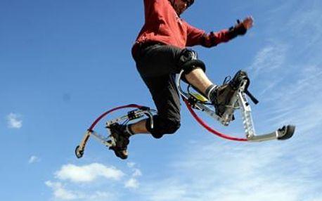 Rozhýbejte svá těla a dopřejte si adrenalin během 2 hodin na skákacích botách s intruktorem za 275 Kč! Po telefonické dohodě je možné domluvit se na jakémkoliv místě v Ústí nad Labem, Děčíně a Teplicích. Počasí jako stvořeno pro adrenalinový sport. Buďte