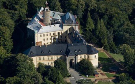 Třídenní romantický pobyt na zámku Chateau Zbiroh