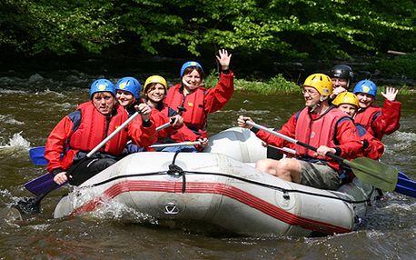Vodácký svátek - vypouštění přehrady! Rafting na Litičáku za adrenalinových 553 Kč!