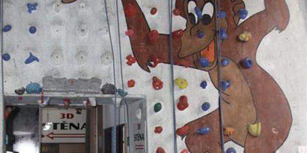 Horolezecký kurz s instruktorem pro děti v lezeckém centru Mammut, sleva 59% -