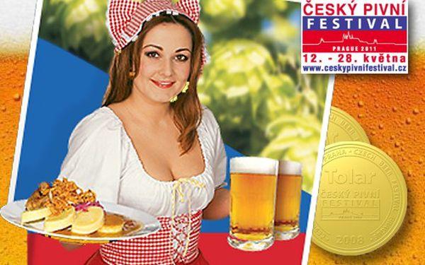 Pojďte na pivo! Pikantní hovězí pivní guláš s cibulkou, feferonkami a pečivem + 0,5 l piva na ČESKÉM PIVNÍM FESTIVALU PRAHA 2011 za 88 Kč!