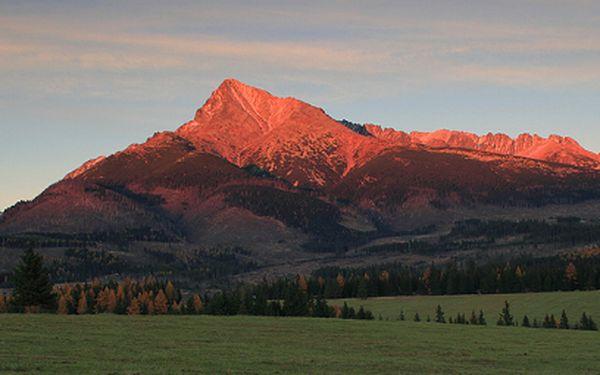POUZE V HOTOVOSTI: Vysoké Tatry na 3 dny a 2 noci jen za 748 Kč místo 1496 Kč!