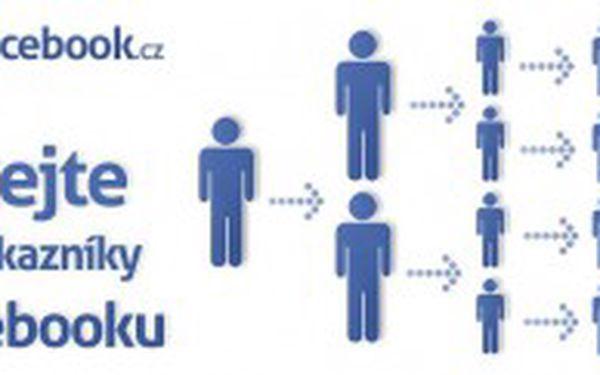 Ještě nemáte firemní profil na facebooku? Zkuste to s námi! Vytvoříme Vám super firemní profil s originální grafikou a ještě přidáme 1000 fanoušků pro Vaše firemní stránky během několika dnů s neuvěřitelnou 50% slevou! To bude konkurence koukat!
