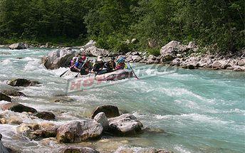 Úžasný rafting ve Slovinsku za pouhých 159 Eur místo 268 Eur!