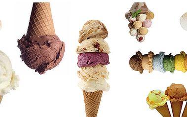 Kopeček zmrzliny na Žižkově - výběr ze 30 druhů pravých italských kopečků! Levněji to už nejde!