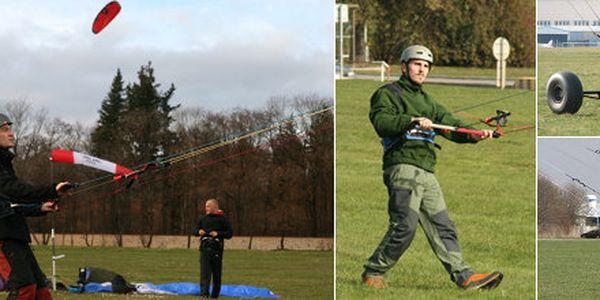 Pouze 745 Kč místo 1490 Kč za celodenní kurz landkitingu. Zažijte pravý adrenalin a zkroťte svého draka s výcvikem landkitingu.