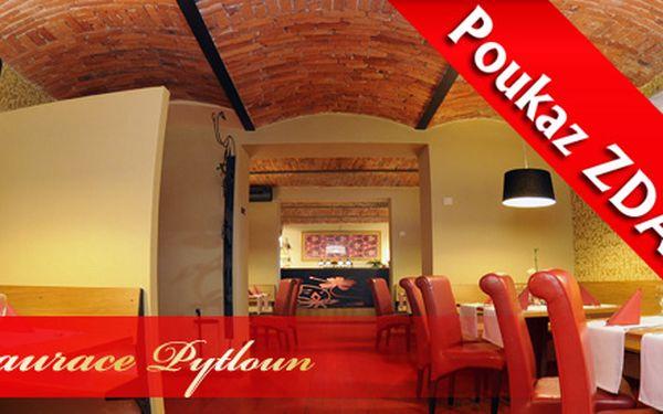 Poukázka na 50Kč do Restaurace Pytloun zcela ZDARMA!