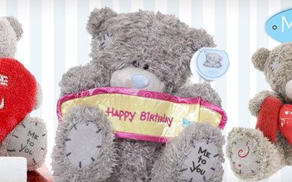 42% sleva na nejznámějšího plyšového medvídka na světě!! Medvídek Me to You nyní za super cenu! Obdarujte své milé krásným dárkem!!