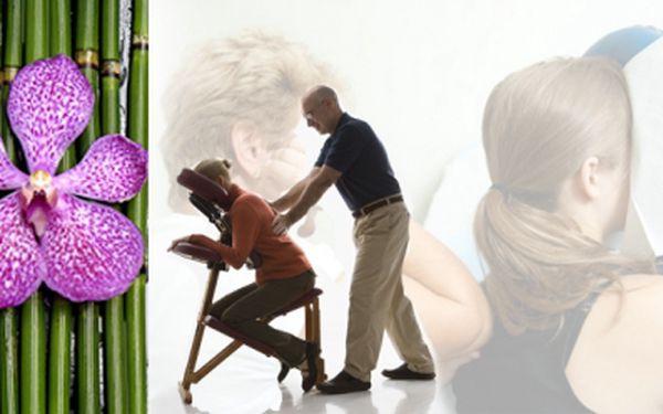 Posílení Tchi - toku životní energie, harmonizace celého těla, to je Amma masáž - akupresurní masáž v oblečení, v sedě nyní za 129 Kč, sleva 57% z původních 300 Kč!