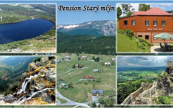 CENOVÁ BOMBA! 499 Kč za pobyt na TŘI DNY (DVĚ NOCI) pro DVA v Krkonoších! Užijte si krásný pobyt uprostřed malebné přírody s nádhernými výlety do okolí s platností až do 30.11.2011!