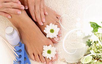 Gelová francouzská manikúra nehtů na nohou za 199 Kč ve studiu Mapeko v Českých Budějovicích! Mějte krásné nehty i na nohou a buďte připraveny do sandálů se slevou 51%!