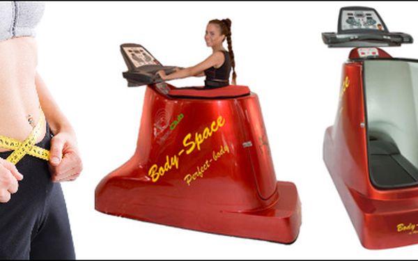 Body-Space! NOVINKA v boji proti celulitidě a přebytečným kilogramům! 109Kč (hodnota 280Kč) za jedinečnou a v současnosti jednu z nejúspěšnějších metod hubnutí. Jedná se o kombinaci podtlaku a pohybu na běžeckém pásu. Tento způsob cvičení je NEJEFEKTIVNĚJ