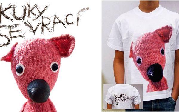 KUKY SE VRACÍ! Udělejte radost sobě nebo svým dětem originálním bavlněným tričkem se známým medvídkem KUKYM z filmu Jana Svěráka, který byl oceněný třemi českými lvy! Skvělá cena 99 Kč po 50% slevě.
