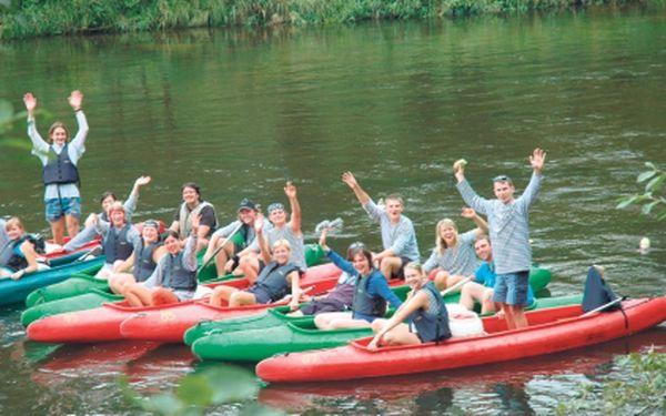 Mimořádná akce! Zakupte si voucher za pouhých 120 Kč v hodnotě 240 Kč a získejte tak slevy na půjčovné lodí, raftů i jejich dopravu! Užijte si to pravé letní dobrodružství na vodě s kamarády a to za tu nejnižší cenu!!