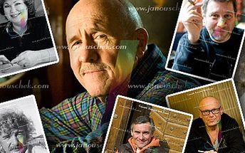 1299 Kč za sérii pěti krásných portrétních fotografií od Radovana Janouschka - fotograf známých osobností. Profesionální nalíčení, úprava vlasů a foto session se slevou 78 %!