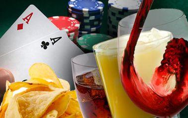 Pouhých 103 Kč za 4x míchaný nápoj dle výběru, 1x slaná pochutina dle výběru, možnost pronájmu pokrového stolu až pro 10 osob zdarma. Navíc každé 4. pivo ZDARMA! To vše se slevou 40%.