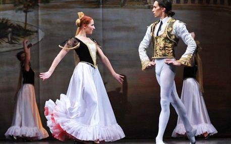 """99 Kč za vstupenku na baletní představení """"Don Quijote"""" v Severočeském divadle opery a baletu. Oku i uchu lahodící zážitek s 55% slevou."""
