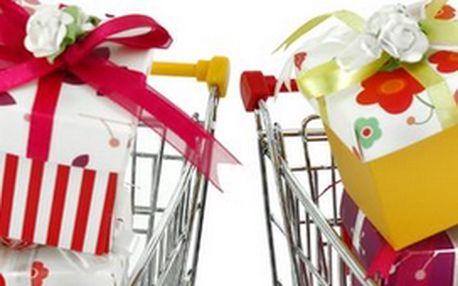 Přijďte si vybrat vhodný dárek ze širokého sortimentu našeho internetového obchodu. Nabízíme Vám Dárkový poukaz v hodnotě 150 Kč. U nás pouze za 49 Kč!!!