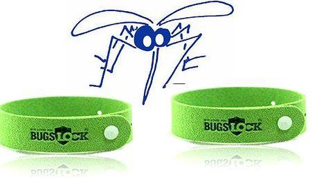 pouhých 56Kč za BUGSLOCK - repelentní náramek proti moskytům, komárům. Letní posezení bez obtěžujícího hmyzu