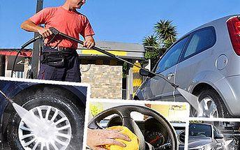 Dopřejte patřičnou péči i vašemu plechovému miláčkovi. Nechte své auto ručně umýt u odborníků se slevou 50%.