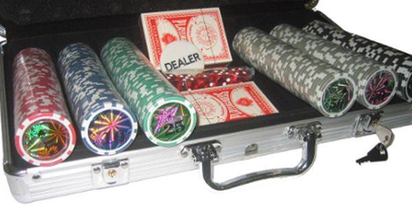 POUZE V HOTOVOSTI: Poker set v hliníkovém kufříku za skvělých 490 Kč místo 849 Kč!