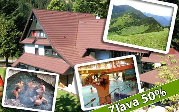 Len 30 € za pobyt pre dve osoby na dve noci v Nízkych Tatrách po 50% zľave!