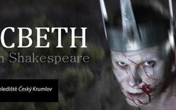 600 Kč za DVĚ vstupenky na představení Macbeth na otáčivém hledišti v Českém Krumlově se slevou 50 %.