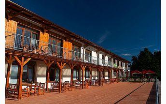Mimovíkendové relaxační pobyty od pondělí do pátku v apartmánech CLUB CANADA u Lipenského jezera se slevou 60% !!