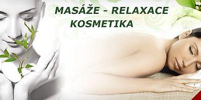 Masáže - relaxace - kosmetika