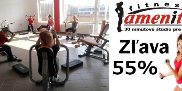 Iba 5,31 EUR za 4 vstupy do fitness štúdia amenity. Buďte sexi, zlepšite si svoje zdravie a kondíciu efektívnym kruhovým tréningom s neodolateľnou zľavou 55%.