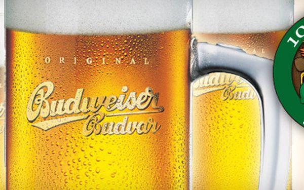 3x točený Budweiser Budvar 12° se slevou 40 % za skvělých 63 Kč!! Vyražte do restaurace a music baru 100dola a dámy nenechávejte doma!! Při předložení 5 Slevuponů získáváte slevu 60 % i pro své drahé polovičky :) A to na Bohemia Sekt a 2 nealkoholická piv