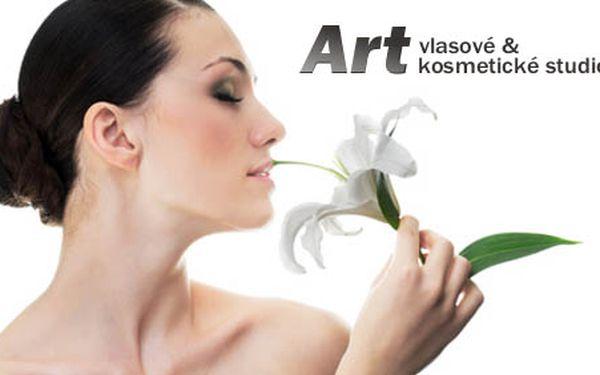 Hýčkejte svou pleť! Studio Art vám nabízí celkové kosmetické ošetření za skvělou cenu 270 Kč. Buďte krásnější a navíc ušetřete 51 %.