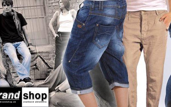 Vyskladajte si zľavu na Vaše nové štýlové nohavice GANG, ktoré Vám padnú ako uliate! Len 4,99 Eur za zľavový kupón v hodnote 10 Eur!