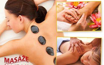 Zbavte se konečně bolesti hlavy, zad a šíje. Vyberte si masáž havajskou, masáž lávovými kameny nebo jejich kombinaci a ušetřete 57 %!