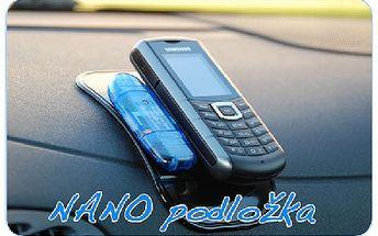 Speciální, protiskluzová NANO podložka se 70% slevou. Pořiďte si také tento revoluční doplňek do auta!!!