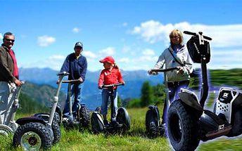 Rozjeďte to s námi! Vyzkoušejte vozík Segway za mimořádně výhodnou cenu 249 Kč! Užijete si spoustu zábavy a zároveň osvojíte techniku ovládání. 59% sleva!