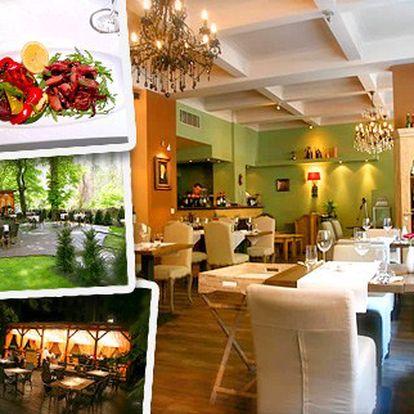 Výtečné kalamáry s grilovanou zeleninou za 190 Kč v luxusní italské restauraci. Chuť dálek nemusíte zažít jen v zahraničí.