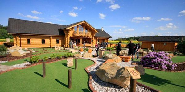 Rodinný Adventure Golf v Horním Bezděkově s úžasnou slevou 40%!