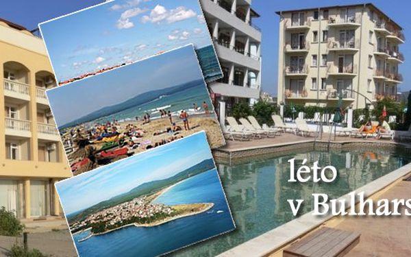 Pozor prázdniny se blíží! Speciální first minute s ck parkam na 8 denní letecký zájezd do bulharska do hotelu tropikana