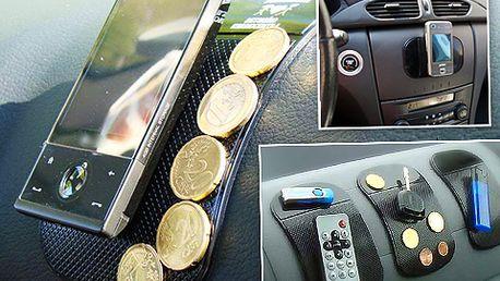 Udržte věci na svém místě s revoluční nanopodložkou a bez lepidla! Ideální nejen do auta, ale i kanceláře či domácnosti. Jen dnes se 65% slevou!