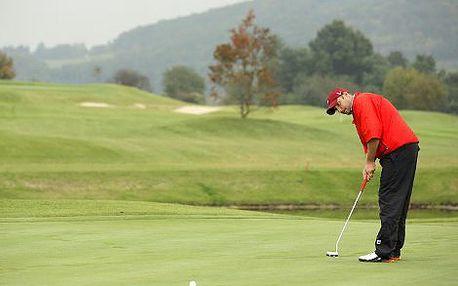 Jen 3290 Kč místo 5590 Kč za nabitý balíček víkendových golfových kurzů - 12 hodin výuky golfu s profesionálním trenérem, zapůjčení veškerého vybavení, 2 obědy v klubové restauraci a voucher v hodnotě 1000 Kč do golfového obchodu!!! Naučte se golf na krás