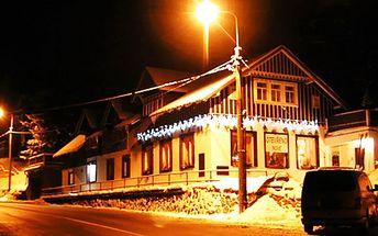 Tip na víkend - dvoudenní pobyt včetně polopenze v chatě Říp v Jizerkách!