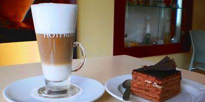 Cukrárna – kavárna – creperie MERLOT
