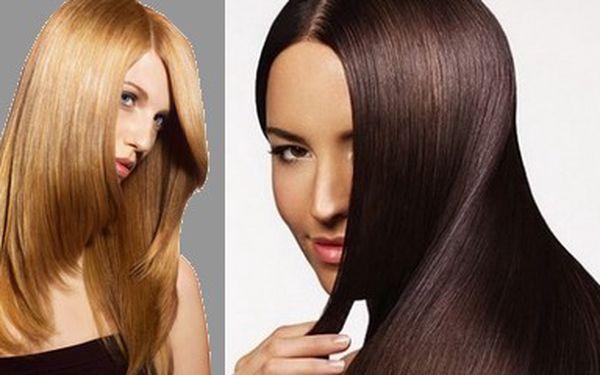 Brazilský Keratin v Salonu Exclusive. Přírodní narovnání vlasů s viditelným ozdravením již po první aplikaci (sleva 30%). Tato nabídka platí pro krátké vlasy v max. délce do 15 cm.