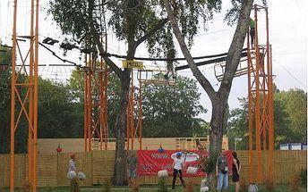 Máš rád adrenalin? Vyzkoušej svoji obratnost v lanovém parku!
