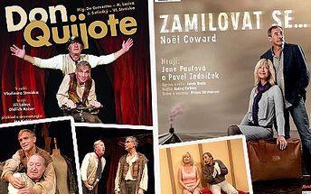 Vyplňte si volný večer v Praze kulturou a pojďte do Divadla Kalich. Vyberte si jakékoli představení z červnového programu za 239 Kč.