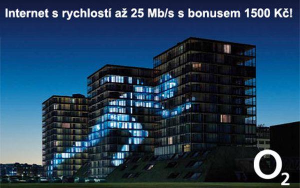 Pevný internet od O2 s poukázkou do TESCO v hodnotě 1500 Kč!