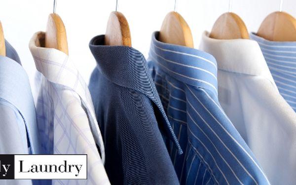 Praní + sušení + žehlení 5 košil za 99 kč v my laundry, nové prádelně na vinohradech!